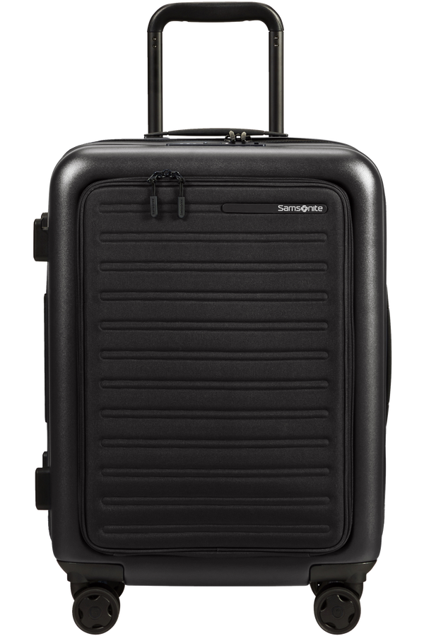 Samsonite Stackd Spinner Expandable Easy Access 55cm  Noir