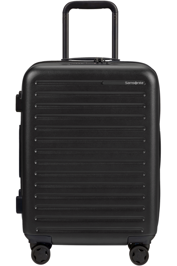Samsonite Stackd Spinner Expandable 55cm  Noir