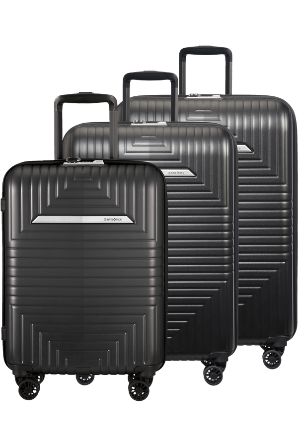 Samsonite Gateway 200 3 PC Set A  Matt Graphite