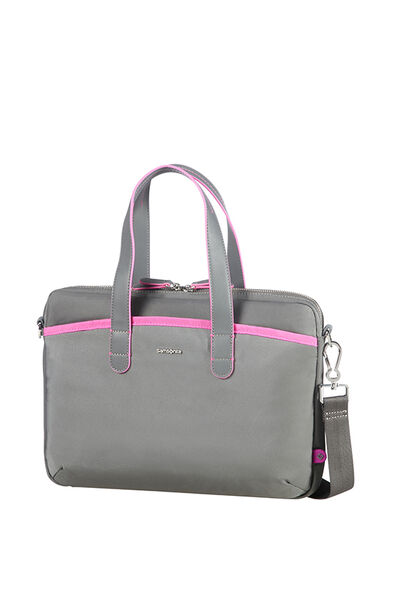 Nefti Serviette Rock Grey/Fuchsia