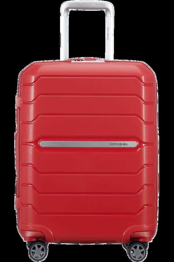 Samsonite Flux Spinner Expandable 55cm  Rouge