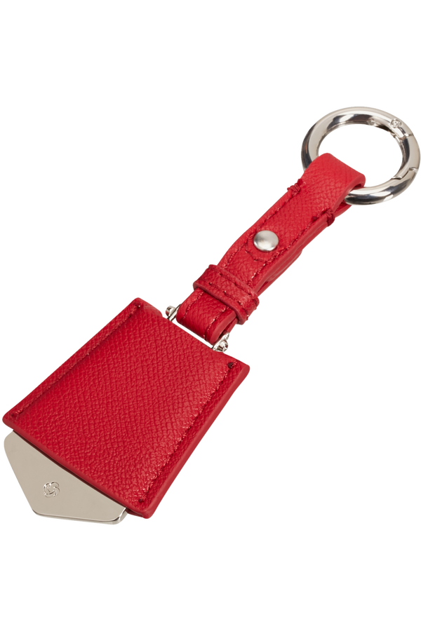 Samsonite Tag Heritage Triangular Tag  Formula Red