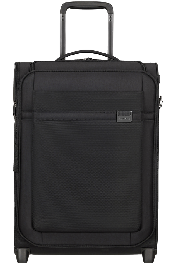 Samsonite Airea Upright Expandable Toppocket 55cm  Schwarz