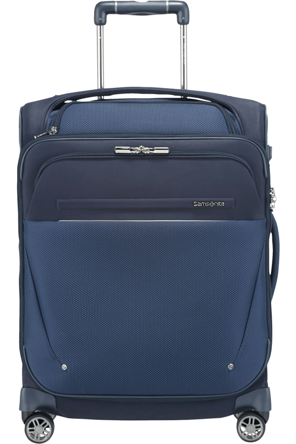 Samsonite B-Lite Icon Spinner Exp. Toppocket 55cm  Bleu foncé
