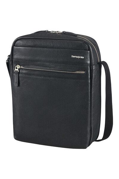 Hip-Class Lth Crossover Bag Schwarz