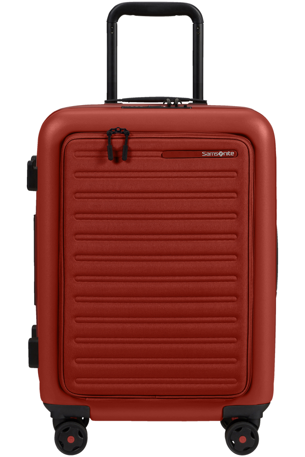 Samsonite Stackd Spinner Expandable Easy Access 55cm  Rouge