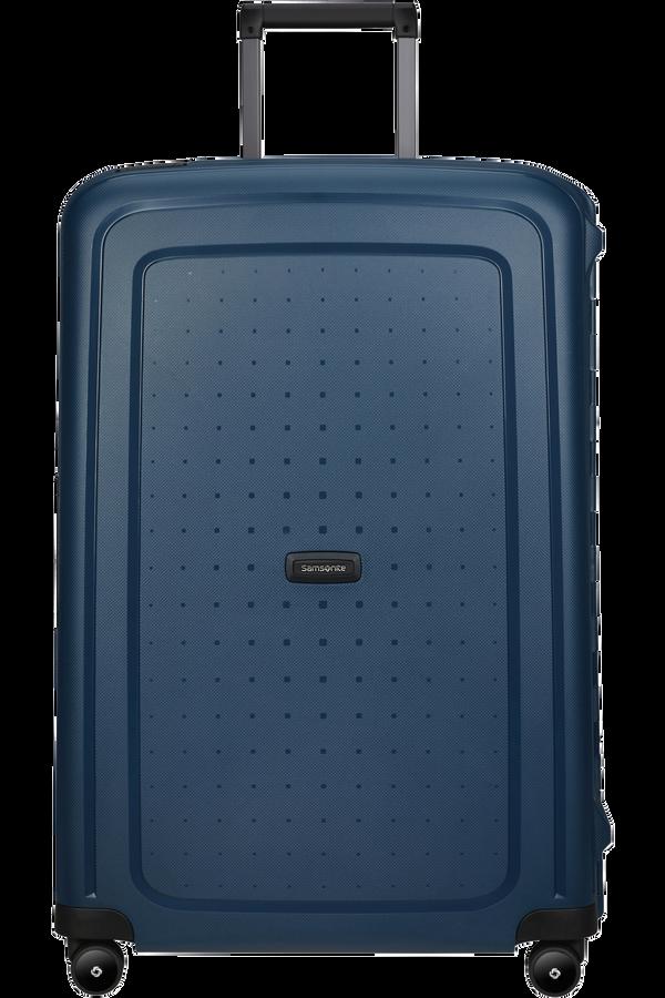 Samsonite S'cure Eco Spinner Post Consumer 75cm  Navy Blue