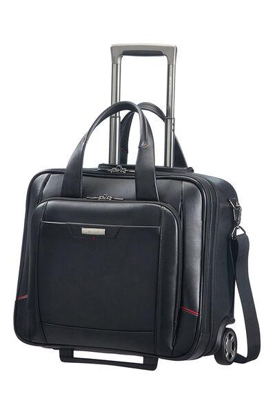 Pro-Dlx 4 Lth Laptoptasche mit Rollen Schwarz