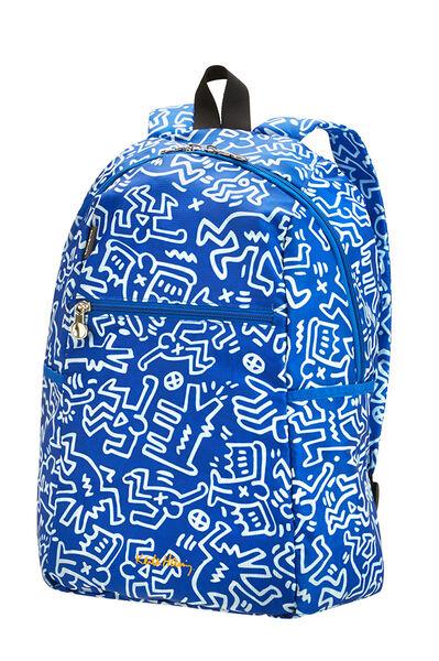 Travel Accessories Rucksack Graffiti Blue