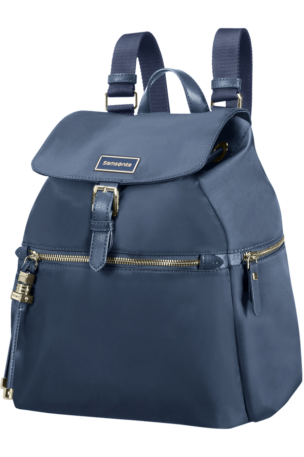 Samsonite Karissa Backpack 3 Pockets + 1 Buckle  Bleu foncé