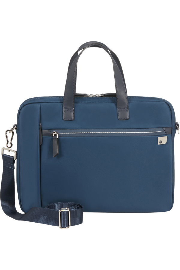 Samsonite Eco Wave Bailhandle  15.6inch Bleu nuit