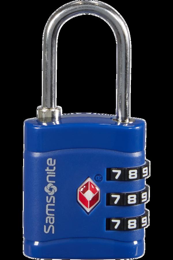 Samsonite Global Ta Combilock 3 dial TSA light Bleu nuit