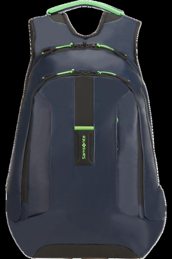 Samsonite Paradiver Light Laptop Backpack L+  Night Blue/Fluo Green