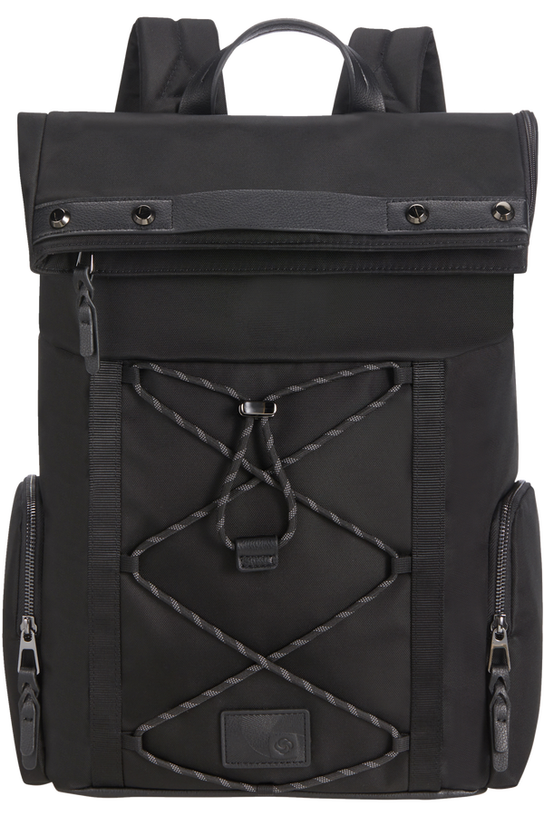 Samsonite Yourban Backpack + Flap  15.6inch Noir