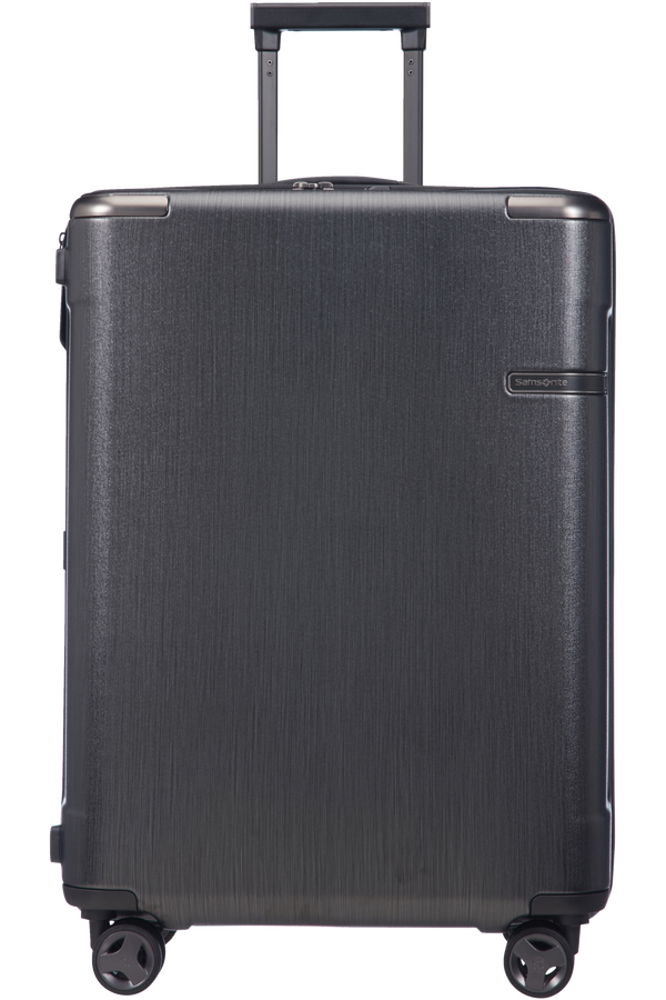 Samsonite Evoa Spinner Expandable 69cm  Brushed Black
