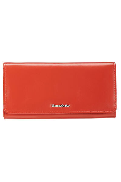 Lady Chic II SLG Portefeuille Rouge Corail