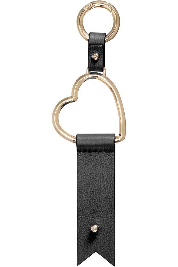 Samsonite Lady Charmy Heart Key Ring  Schwarz