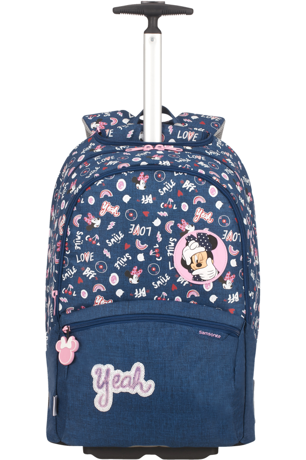 Samsonite Color Funtime Disney Backpack/Wh Disney  Minnie Doodles