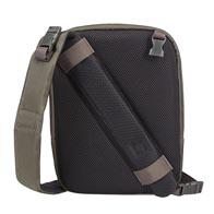 Exklusives 2-in-1-design: verwandelt sich durch einen einfachen schritt von einem schulterrucksack in eine umhängetasche.