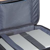 Compartiment équippé et adapté à tous les odinateurs portables et tablettes.